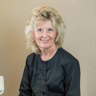 Our dental assistant Bonnie