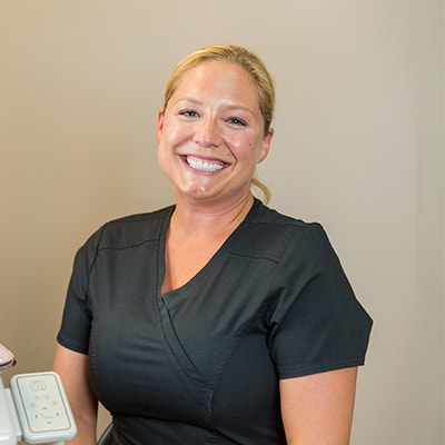 Our dental assistant Jeanne